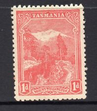 New listing Tasmania: 1d Red Pictorial Sg 250a Perf 11 Ca Wmk Upright Mh