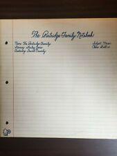 The Partridge Family Notebook 1972 BELL Records Vinyl LP Cassidy, Jones