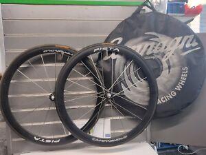 Campagnolo Record Pista Track Wheelset & Continental Podium Tubulars  RRP £1100