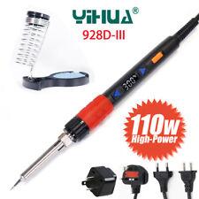 110W 928D-III Digital Adjustable Temperature Electric Soldering Iron Welder Tool