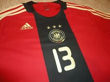 Authentic Uefa 08 Deutschland Germany Michael Ballack Soccer Football Jersey Xl