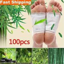 100Pcs Fusspflaster Detox Foot Pads Vitalpflaster Entgiftung Entschlackung Set
