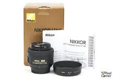 Nikon 35mm f/1.8 G AF-S DX Nikkor wide-angle prime lens Mint Boxed 2173328
