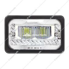 2pcs 4x6'' Led Headlights Sealed high Beam Peterbilt 379 Kenworth W900 34132