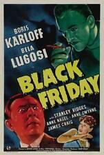 BLACK FRIDAY Movie POSTER 27x40 B