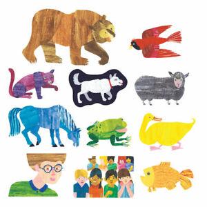 Little Folk Visuals Brown Bear, Brown Bear What Do You See Felt Set - 11 Pcs