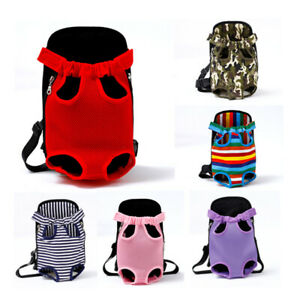 Pet Carrier Backpack Adjustable Pet Front Cat Dog Carrier Legs Out Travel Bags