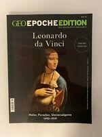 GEOepocheEDITION...Leonardo da Vinci...Zum 500. Todestag....Nr.19