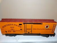 AMERICAN FLYER S GAUGE AC GILBERT  VINTAGE 947 NORTHERN PACIFIC BOXCAR