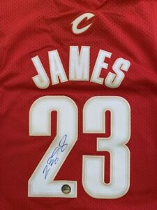 Lebron James Signed Autographed Cleveland Cavaliers ROOKIE Jersey w/COA