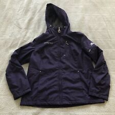 ZeroXposur Womens Coat Purple Lined Hooded Size L NWOT