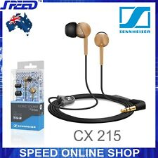 Sennheiser CX 215 In-Ear Stereo Headphones for iPhone Smartphone -Bronze-GENUINE