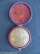Ancienne début XXème siècle Médaille en bronze association agricoles