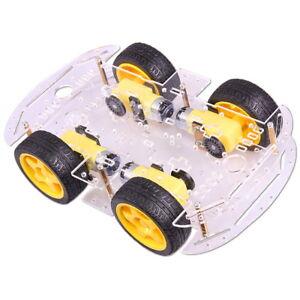 4WD Robot Intelligent Voiture Speed Encoder Châssis Kit Arduino Smart Robot