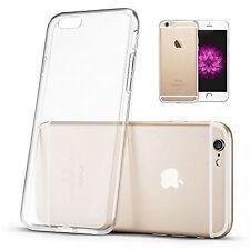 """SILICONE TRASPARENTE TPU Slim Case Cover iPhone 6 6s 4.7"""" NUOVO"""