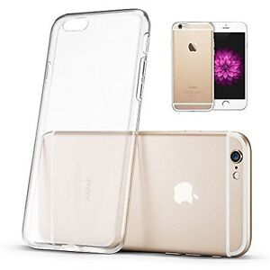 """Silicone Clear TPU Slim Case Cover iPhone 6 Plus iPhone 6s Plus 5.5""""  NEW"""
