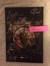 UP10TION Spotlight Album 3rd Mini Gold Signed By All Members Authentic Mwave