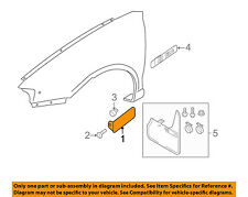 AUDI OEM 06-13 A3 Front Fender-Lower Molding Trim Panel Left 8P0853991BGRU