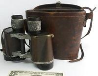 Vintage Carl Zeiss Jena DELACTIS binoculars 8 x 40 German S/N 1190635