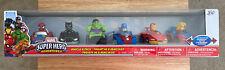 Marvel Super Hero Adventures 6-Pack Vehicle Set