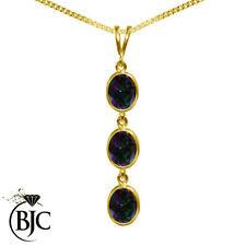 Not Enhanced Topaz Fine Gemstone Necklaces & Pendants