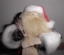 "Santa Claus Nan's Dolls Corn Husk Cornhusk ""Making a List Checking it Twice"" Ln"