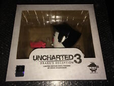 UNCHARTED 3 Limited Edition VINYL FIGURES SCARECROW PS3 PS4 CIB N-MINT RED COLOR