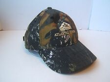 Camo Atlantic Towing Hipster Work Hat Camouflage Hook Loop Baseball Cap