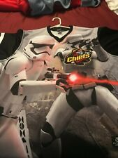 Peoria Chiefs Star Wars Promo Jersey Game Worn Auto Junior Fernandez XXL 2XL