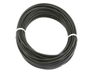 BICYCLE Black BRAKE CABLE 5mm HOUSING BY FOOT LINED Black LINER