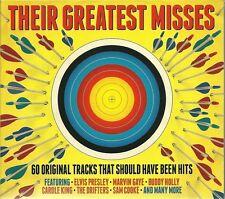THEIR GREATEST MISSES - 3 CD BOX SET - SAM COOKE, MARVIN GAYE & MORE