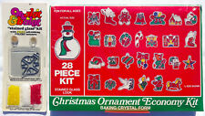 Makit & And Bakit and Other Stained Glass 29 Pieces Christmas Ornament Kits Mini