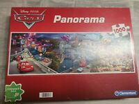 Disney PIXAR Cars Panorama Jigsaw Puzzle 1000 Pcs Clementoni Complete New