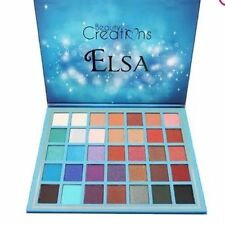 Original Beauty Creation Elsa 35 Colors Eyeshadow Palette Glitter Matte Shimmer