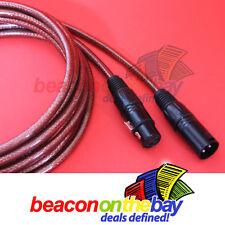 5x 5M Australian Made DMX Cable 3 Pin XLR Connectors Double Shield Short Proof