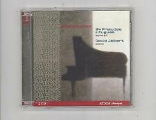(CD) Shostakovich: 24 Preludes & Fugues / 2CDs/  David Jalbert / [ATMA]