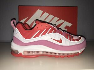 Nike Women's Air Max 98- Valentines Day- Size 9.0- Track Red- New- CI3709-600