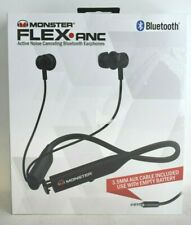 MONSTER FLEX ANC - MNFLEX BLK - Active Noise  Canceling Bluetooth Headphones