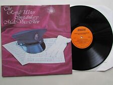 ROYAL ULSTER CONSTABULARY  Male Voice Choir 1977 LP, WINDOW WIN 102, UNPLAYED.