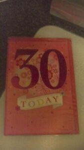 Age 30 birthday cards