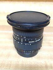 Sigma AF 18-35mm f3.5-4.5 D ASPH Lens 18-35/3.5-4.5 Nikon