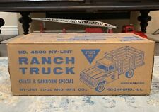 Vintage Original Nylint Mint Sealed Box Chase Private Label Pressed Steel Truck