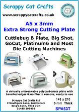 Cuttlebug Tough Die Cutting Plate B by Scrappy Cat : SPA53T  6a