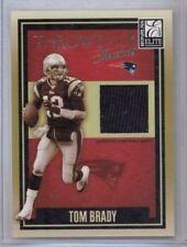 2007 Donruss Elite Tom Brady Throwback Threads Jersey #'ed 046/249