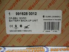 9916280012,  CP-BBU 115-230VAC / 12VDC NIB SEALED!  BATTERY BACK-UP UNIT