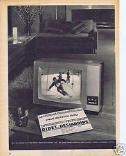 Publicité Advertising 066 1962 Ribet-Desjardin téléviseur Présence 640