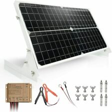 Tp-Solar 30W 12V Solar Panel Kit Battery Charger Maintainer + 10A Waterproof Sol