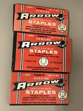 Lot Of Arrow Staples