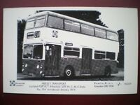 POSTCARD BUS MERSEY TRANSPORT LEYLAND PDR1A/1 WITH ATLANTEAN BODY