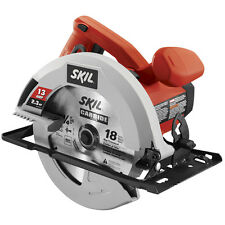 13-Amp 7-1/4-in Corded Circular Saw Home Power Tools Lightweight Dust Blower